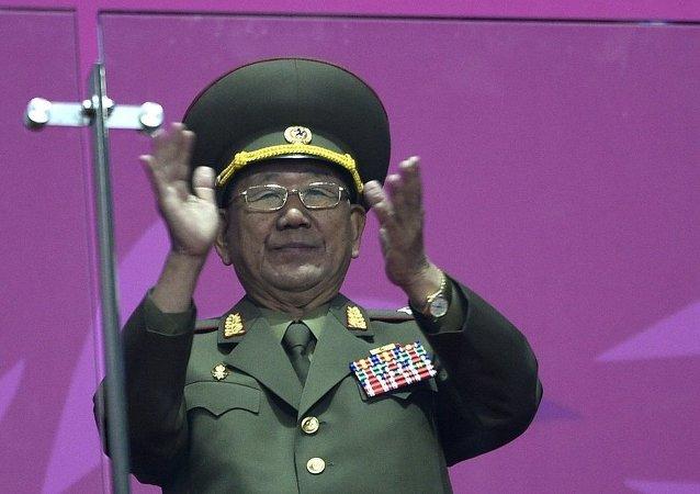 朝鲜人民军总政治局局长黄炳誓