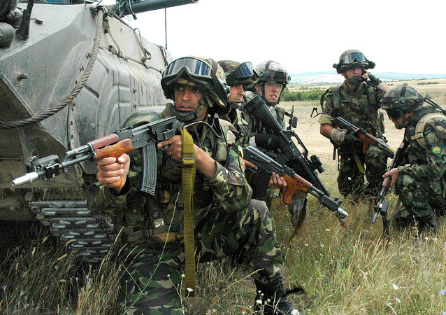 北约军队在罗马尼亚