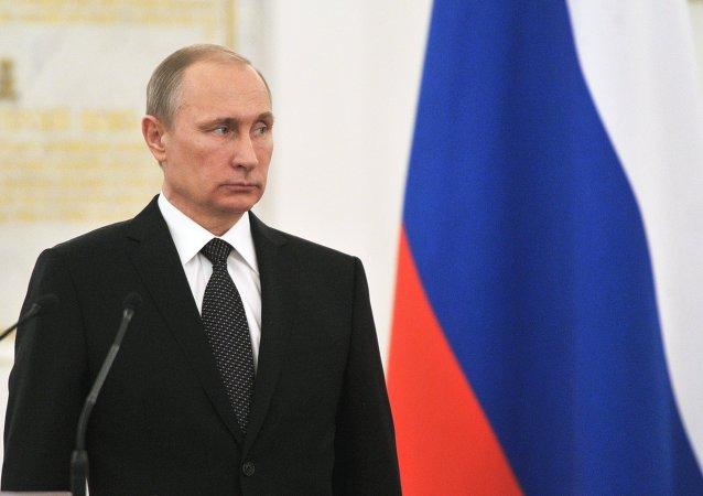 普京祝贺俄安全部门工作人员职业节日快乐