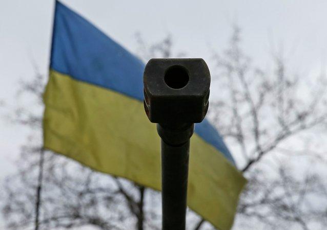 """""""俄罗斯""""电视台摄制组在亚西诺瓦塔亚地区遭乌军方炮击"""