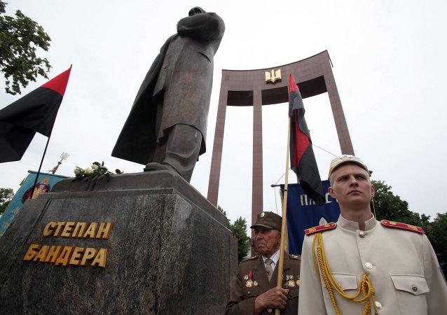"""顿涅茨克人民共和国""""领导人:英雄化乌克兰民族主义者组织和起义军 基辅开启了彻底分裂乌克兰的进程"""