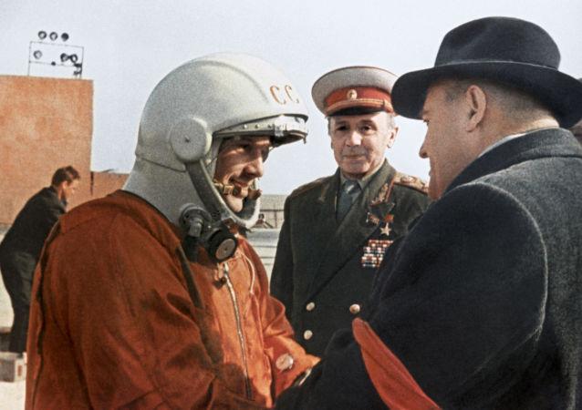 科罗廖夫与加加林