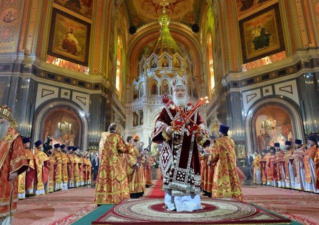 俄总统普京祝贺东正教徒复活节快乐