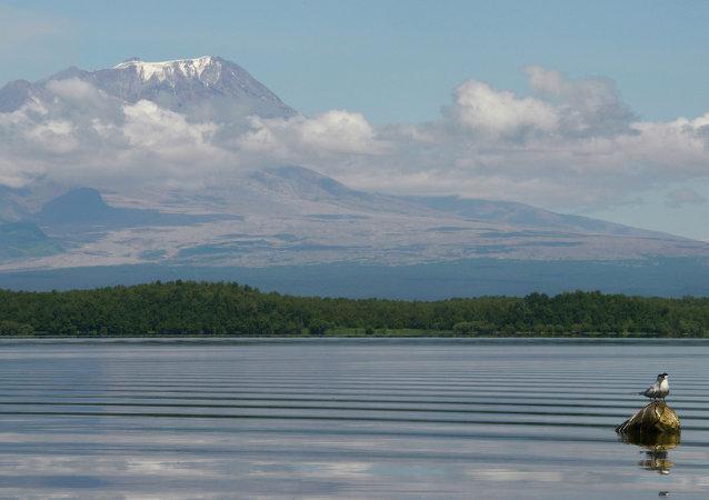 俄堪察加半岛舍维留奇火山灰云蔓延近320公里