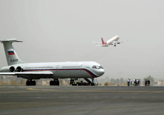 消息人士:又一架俄飞机将含外国公民在内的150人撤离也门