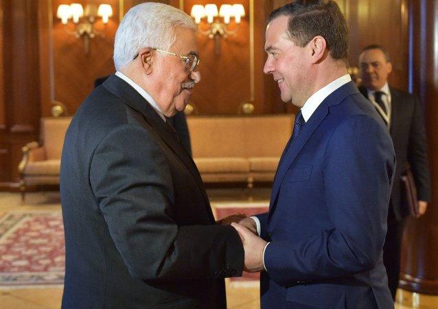 巴勒斯坦總統打算和俄總理討論巴以領導人在俄舉行會談的可能性