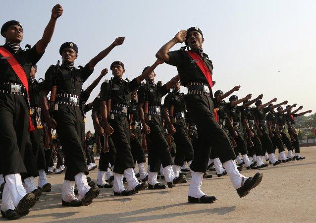 印度军队将派方队参加莫斯科胜利日阅兵