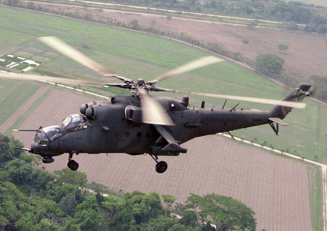 米-35M直升机