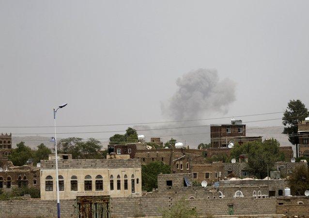 知情人士:位于萨那的也门总统官邸遭阿联盟空袭