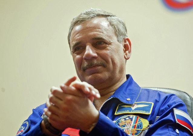 俄罗斯宇航员米哈伊尔∙科尔尼延科