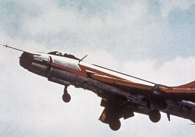 苏-22战斗轰炸机/资料图片/
