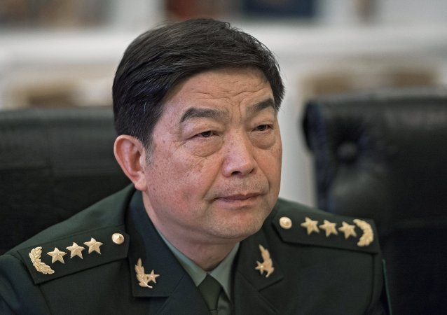 中国国防部部长常万全