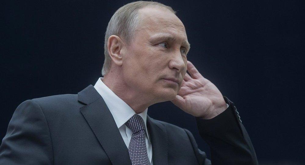 俄联邦总统弗拉基米尔∙普京
