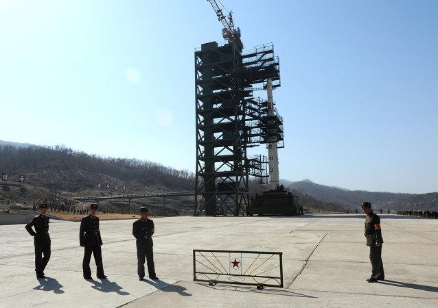 韩联社:朝鲜在中朝边境附近新建导弹发射平台