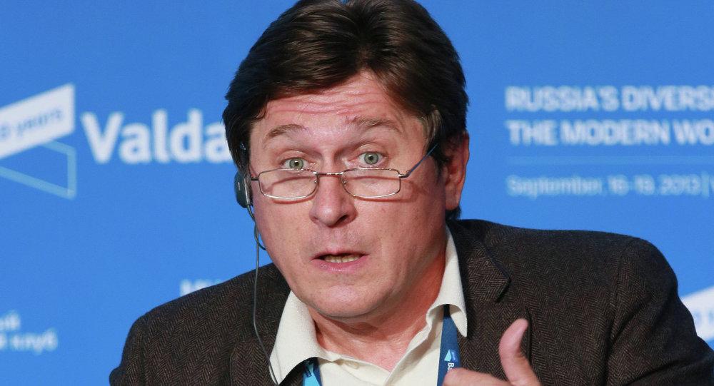 乌克兰著名政治学家弗拉基米尔•费先科