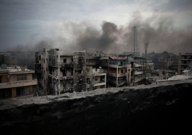 阿勒颇冲突/资料图片/