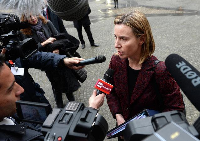 莫盖里尼呼吁朝鲜重返谈判桌与国际社会进行对话