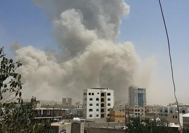 俄罗斯驻也门大使馆旁周五凌晨发生爆炸