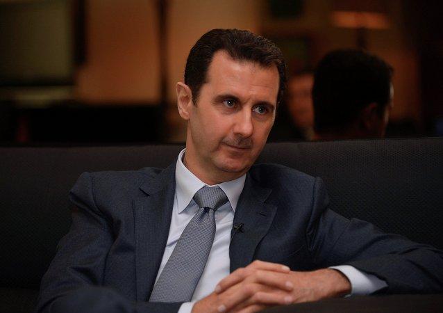叙总统:西方国家对阿勒颇的歇斯底里是由于当地恐怖分子陷入困境