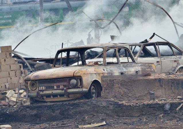 普京:俄防火措施有效性尚低