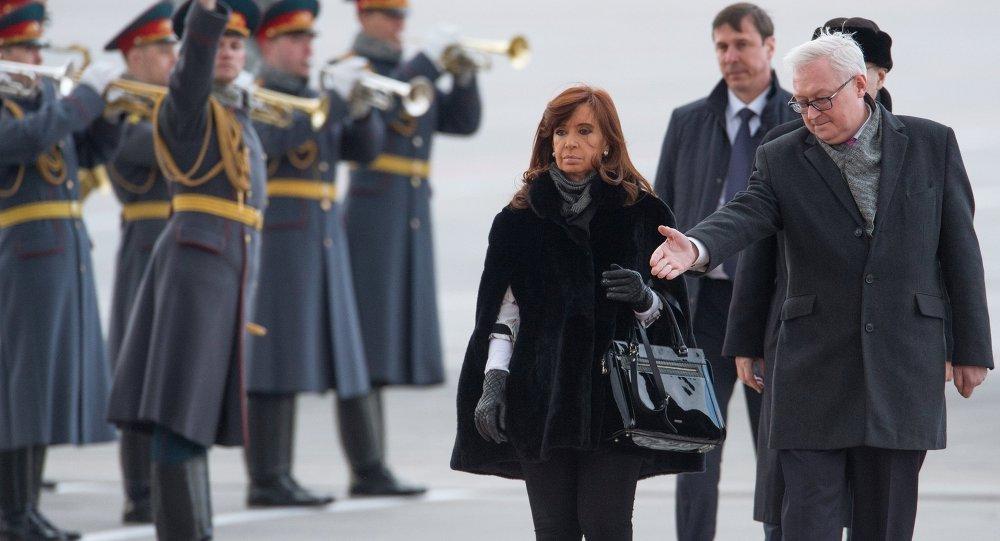 阿根廷总统克里斯蒂娜∙费尔南德斯∙基什内尔