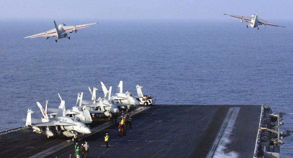 美国舰机对华抵境侦查极其容易引发误解误判
