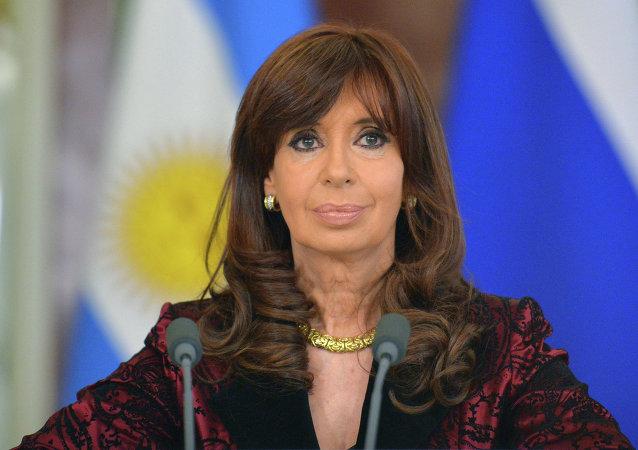 阿根廷总统克里斯蒂娜•费尔南德斯•德基什内尔