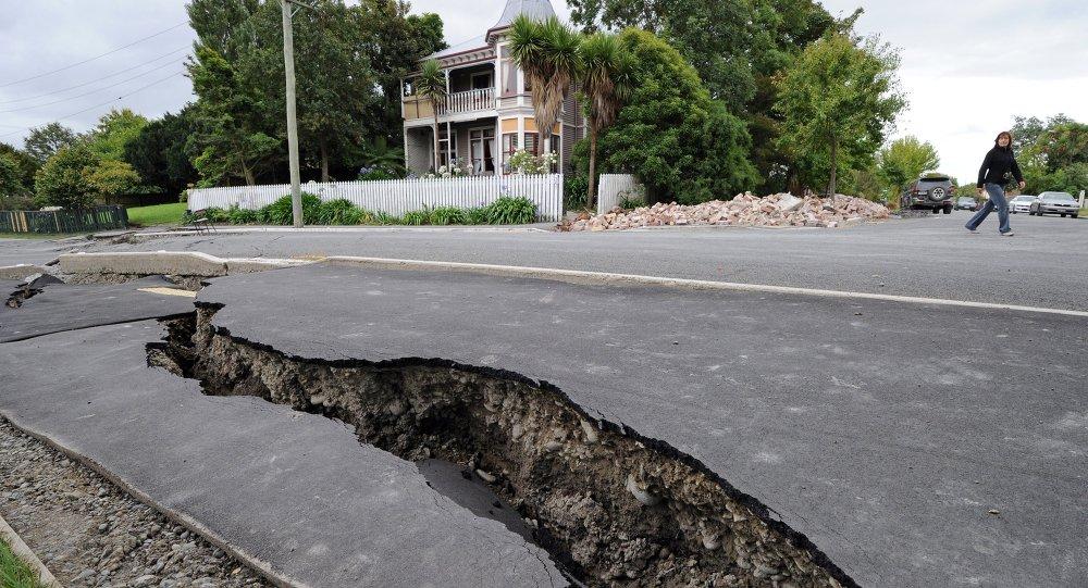 新西兰南岛再发生5.8级地震