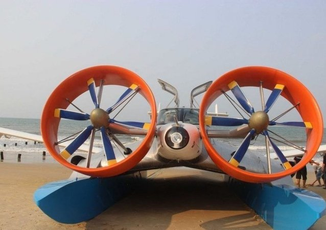 CYG-11型地效翼船