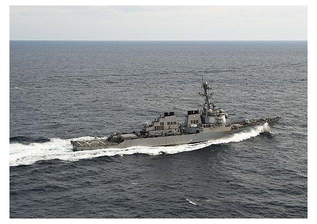美国军舰在黑海区域