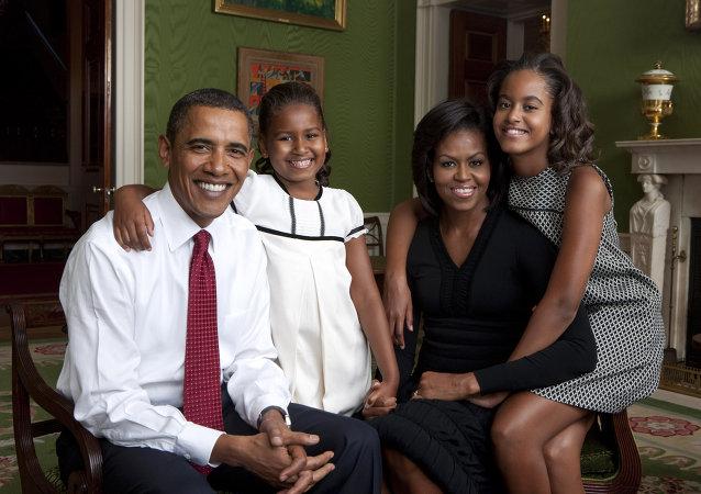 奥巴马:愿送女儿去从军
