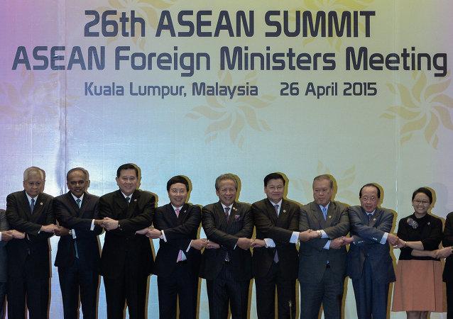 各国外长在马来西亚召开东盟峰会