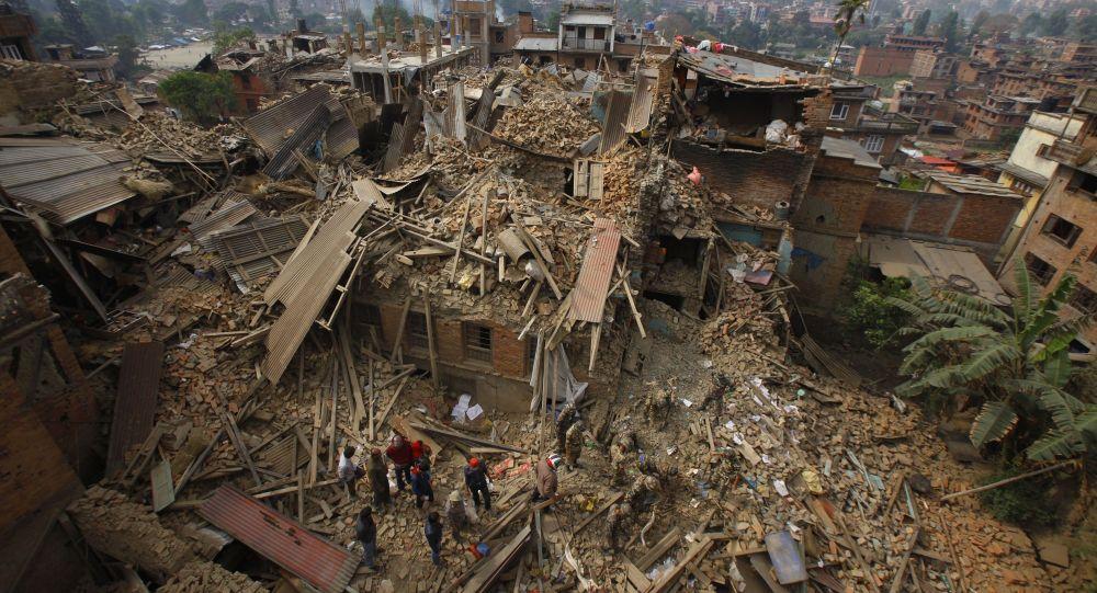2015年4月25日,尼泊尔地震的后果