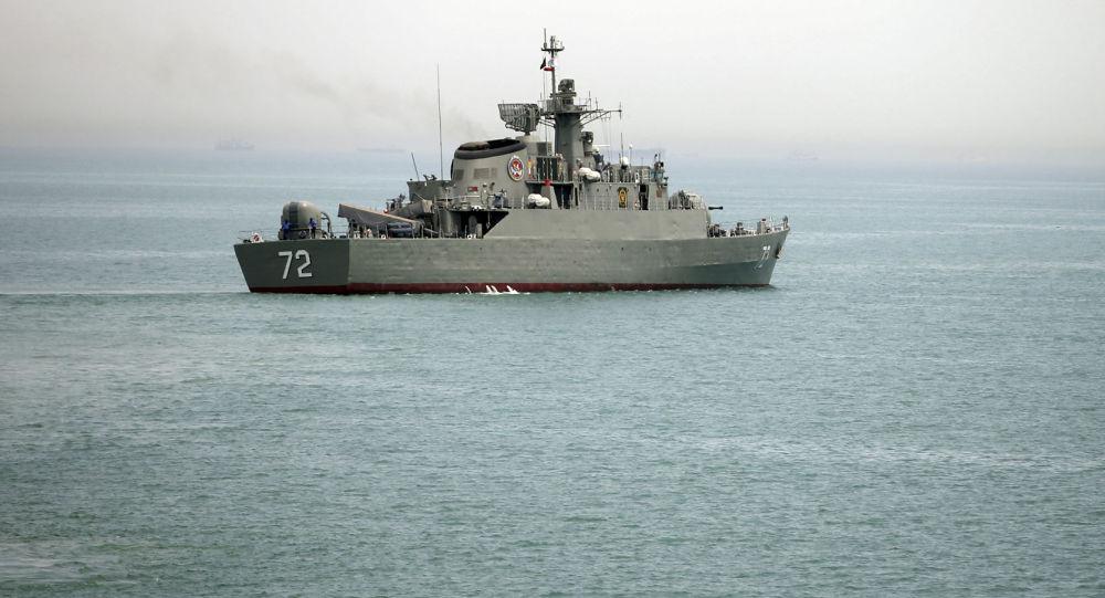 伊朗与中国举行霍尔木兹海峡联合军事演习