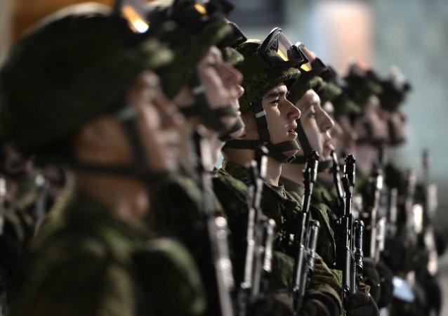 演习阅兵式