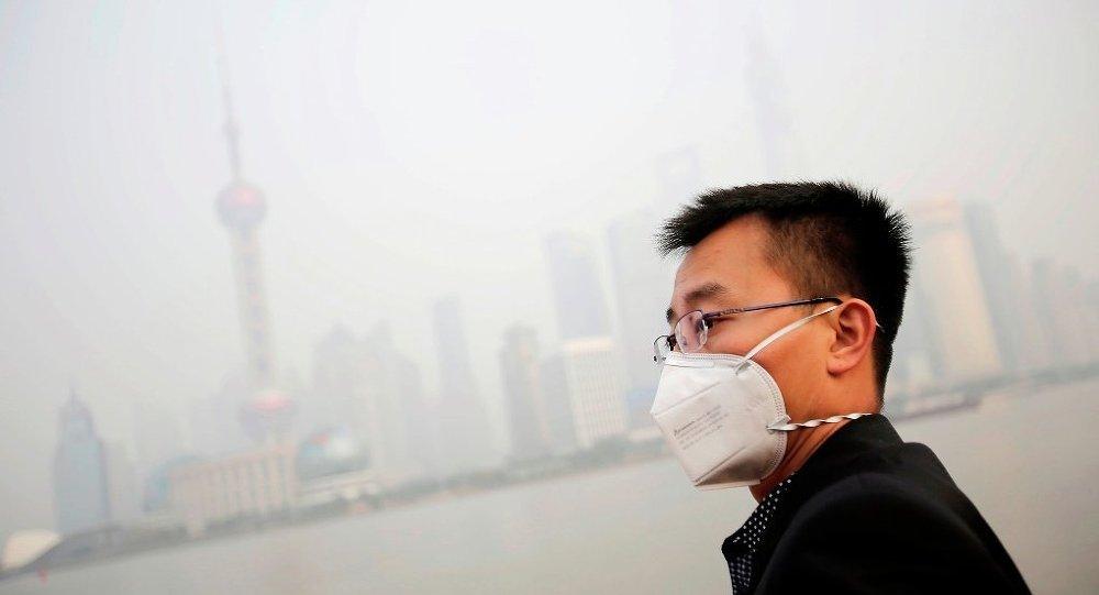 外媒:中国特大城市空气污染严重