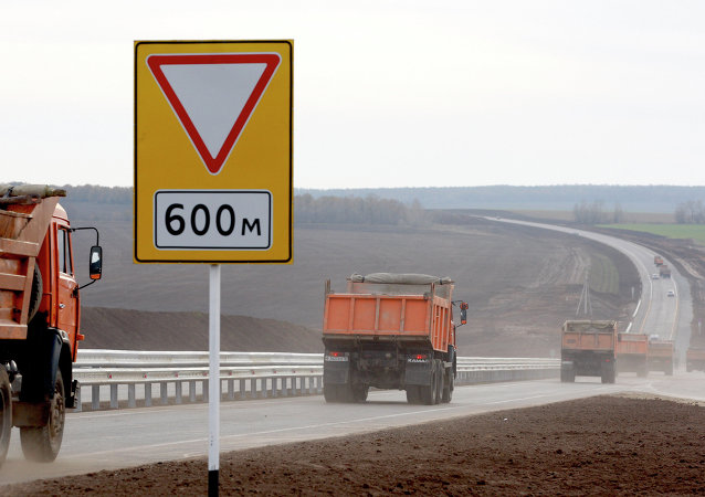 欧洲至中国西部公路段