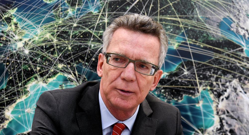 德国内政部长托马斯•德梅齐埃