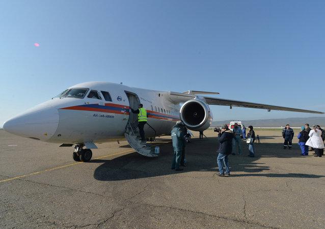 俄紧急情况部专机将于本周日飞往中国接回受伤女生