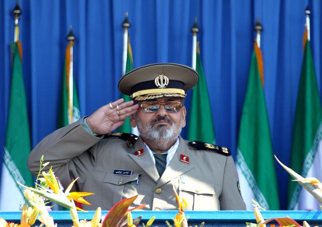 伊朗武装力量总参谋长哈桑•费鲁兹阿巴迪少将