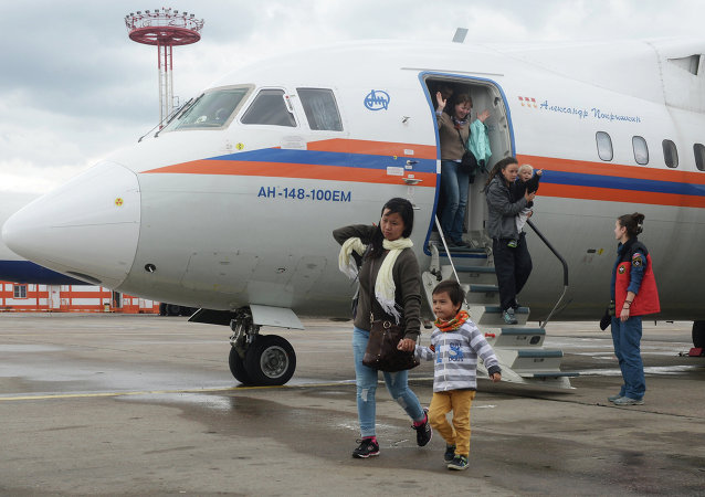 俄紧急安全情况部飞机将俄罗斯公民从尼泊尔接回莫斯科
