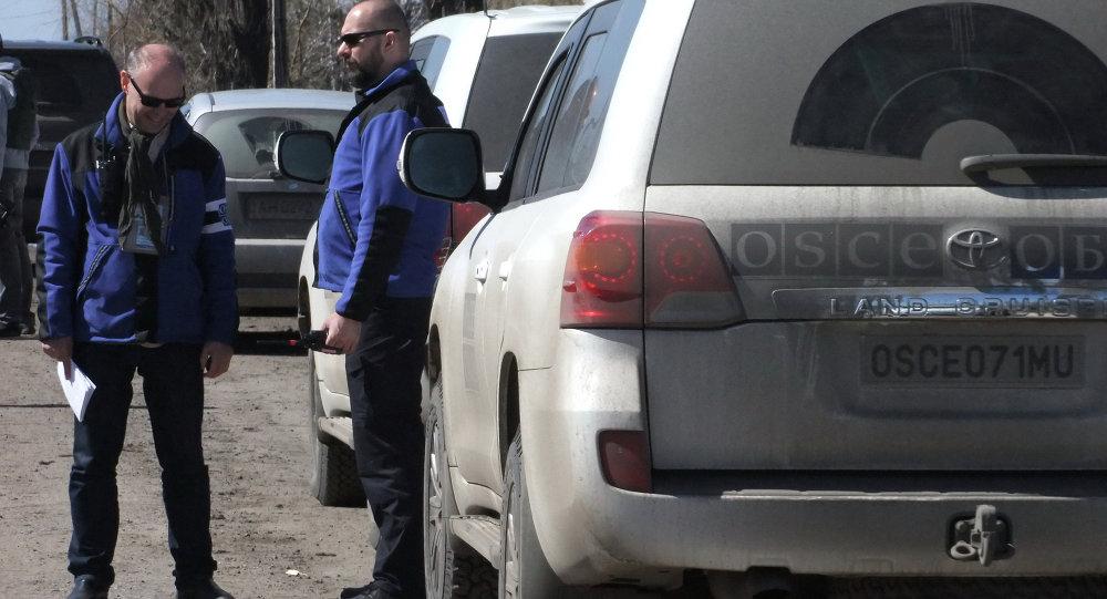 歐安組織觀察員自5月初起已在頓巴斯地區累計記錄到698次爆炸襲擊