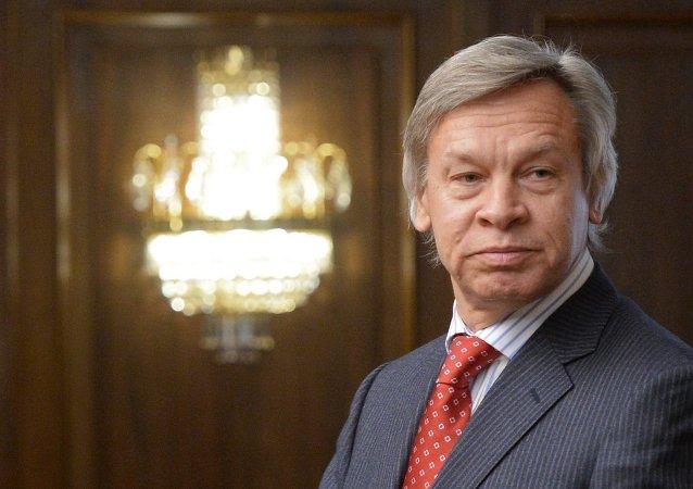 俄罗斯参议员阿列克谢∙普什科夫