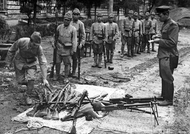 日本关东军的投降