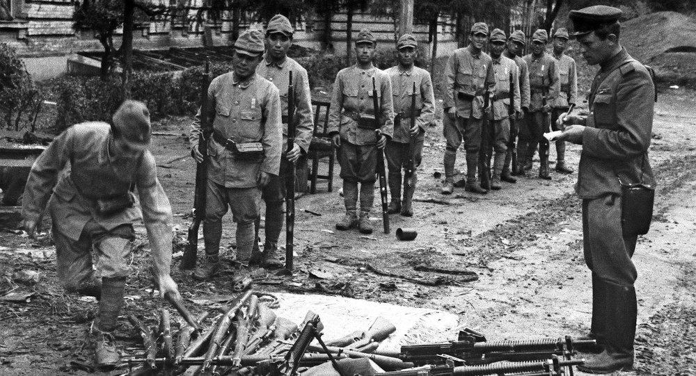 日本關東軍的投降