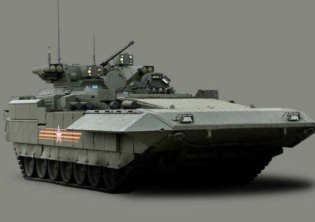 """""""阿玛塔""""T-14坦克/资料图片/"""