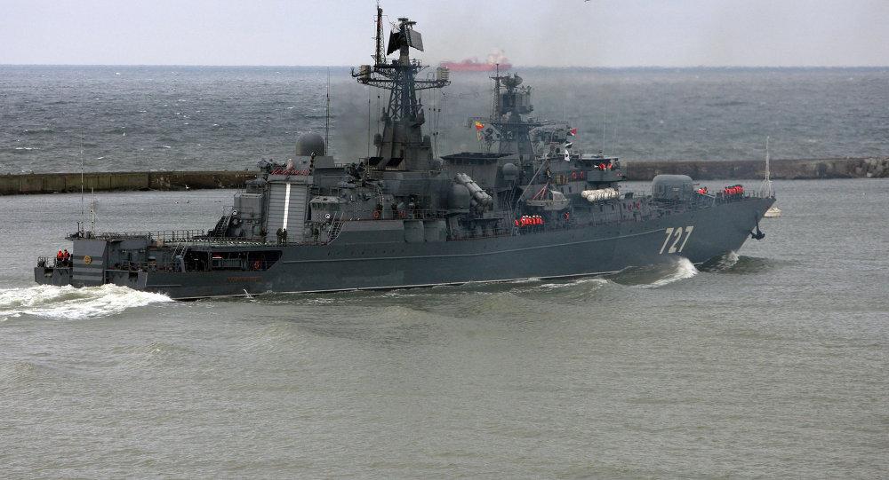 俄中海军演习联合指挥部已设在新罗西斯克基地