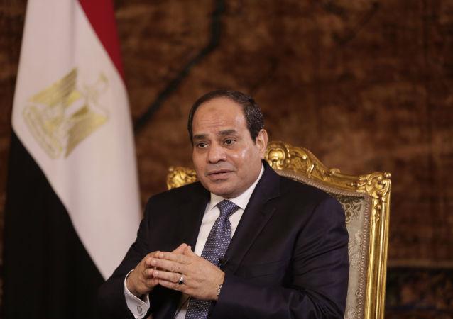 媒体:埃及总统抵达沙姆沙伊赫视察安全措施