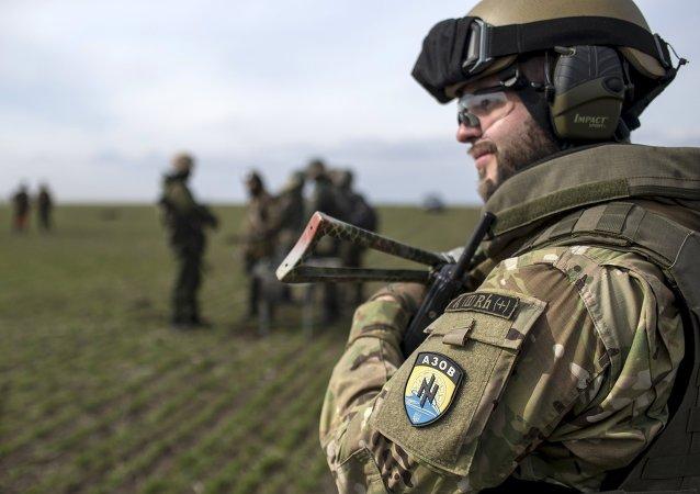 乌克兰亚速团