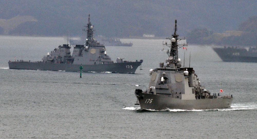 日本自卫队舰艇